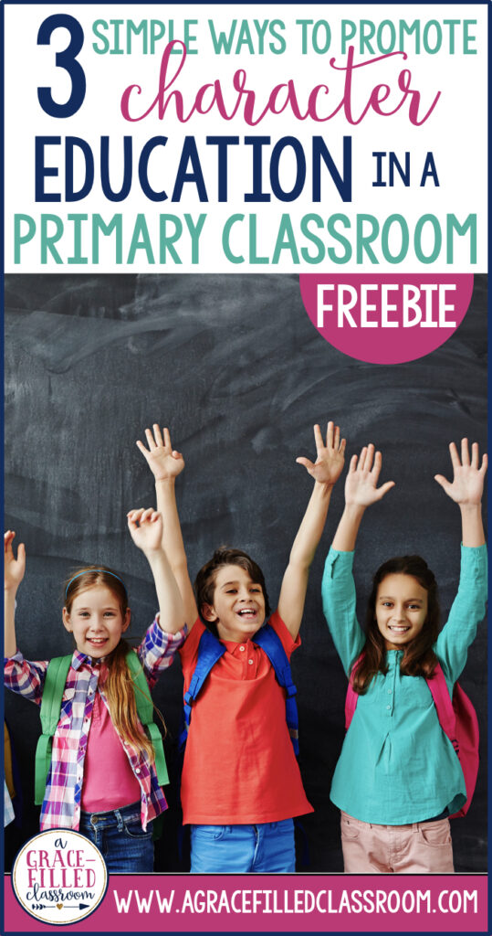FREE character education activities to use in your elementary classroom!